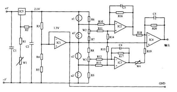 二氧化碳气体传感器检测电路分析