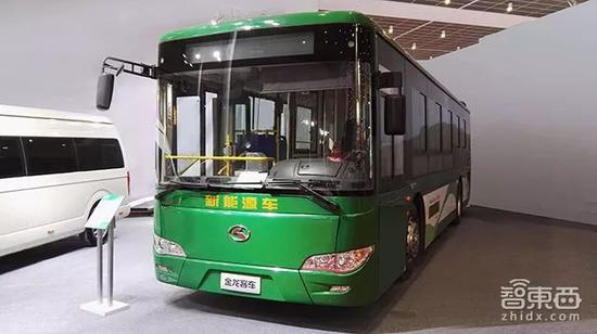 ▲新能源客车,普遍采用磷酸铁锂电池