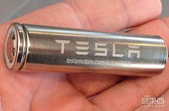 ▲特斯拉2170电芯