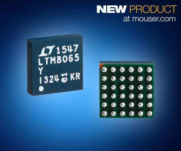 贸泽备货Analog Devices LTM8065μModule稳压器