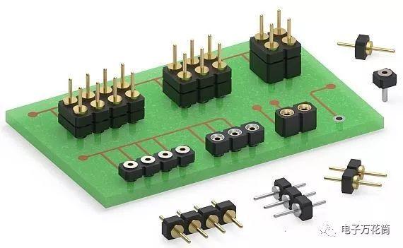 Mill-Max推出的小型可穿戴设备中的电路板连接插座