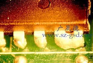 波峰焊连锡的原因是什么_如何减少波峰焊连锡