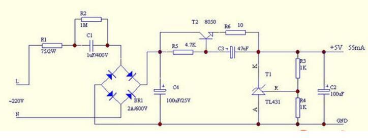 直流稳压电源一般有哪几部分组成?主要技术指标有哪些?