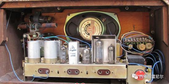 上海144电子管收音机