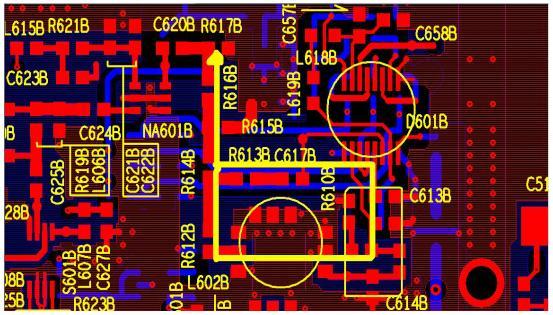 常用射频模块电路推荐布局方案