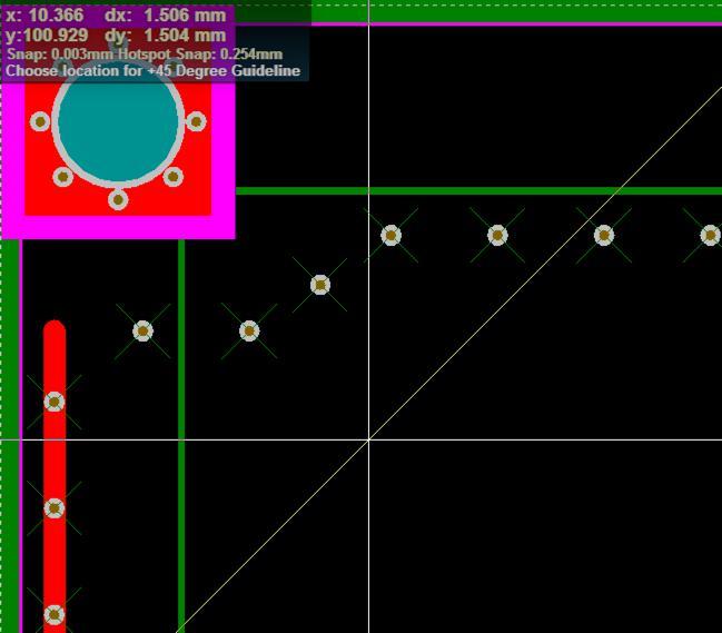 PCB设计交叉选择元件布局
