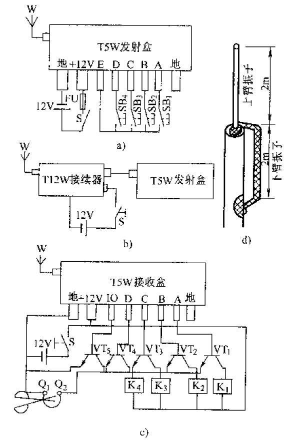 高级电工实用电路:无线遥控组件