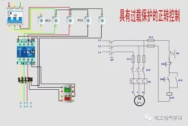 11个电路原理图+实物接线图!
