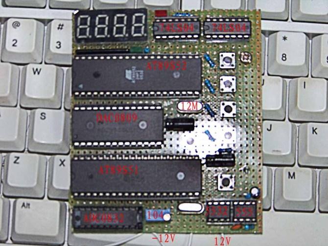 单片机12V数控电源