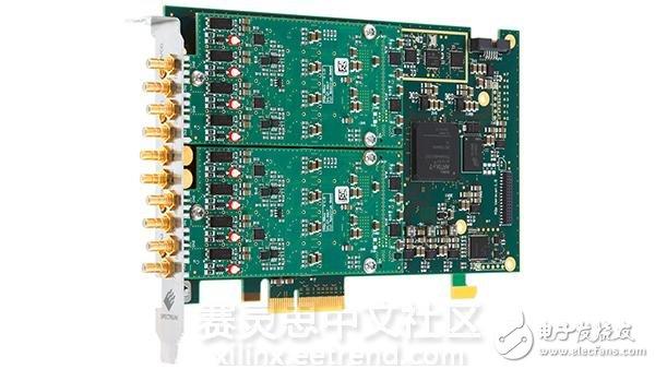 采用Artix-7 XCA75T FPGA的高速多通道数字转换器