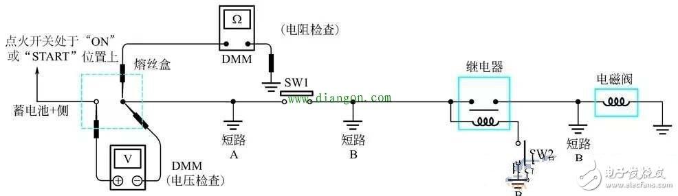万用表检查电路短路的两种方法