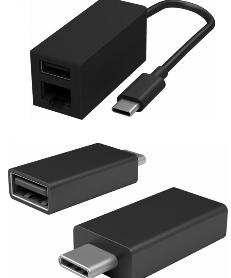 微软推Surface Connect转USB Type-C适配器