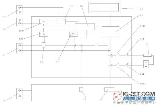便携式电子智能电能表防窃电检测仪
