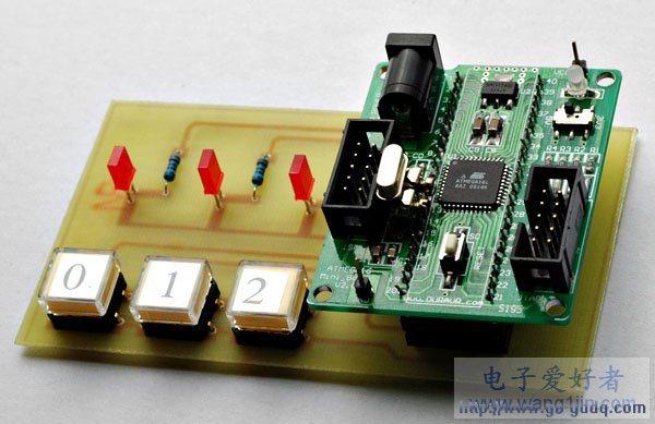 AVR单片机外部中断实例