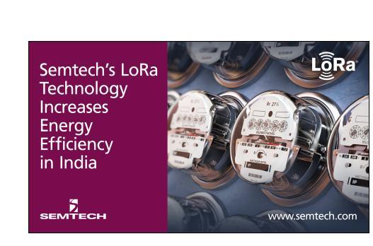 高效的物联网公用事业解决方案,Semtech―LoRa技术