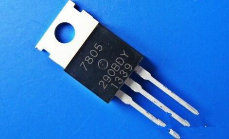 三端稳压器7805接线图分析