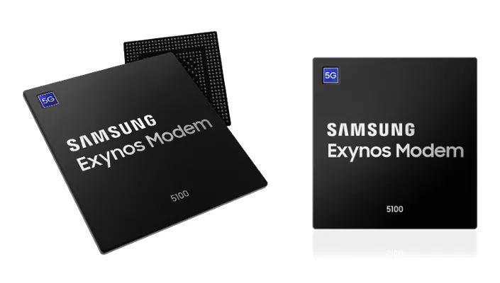 三星在官网上正式发布了5G基带Exynos Modem 5100