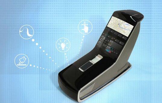 触控流线型汽车中控台或颠覆传统设计