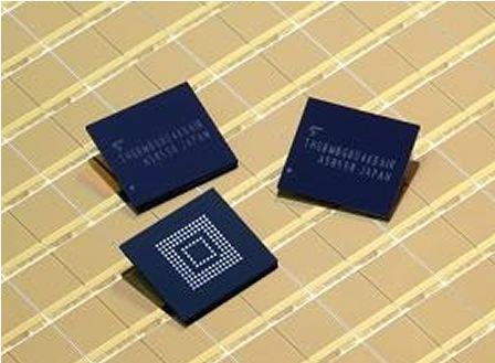 �|芝推出全球最小嵌入式NAND�W存�a品,可用于各�N�V泛的�底窒��M�a品