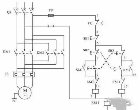 交流接触器的接线方式以及接线图