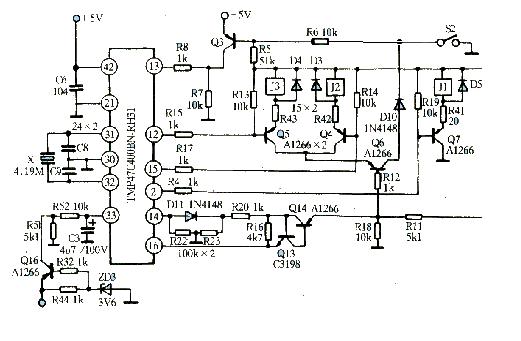格兰仕微波炉工作原理电路图分析
