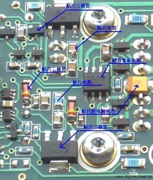 各电子元器件损坏后有哪些表现?