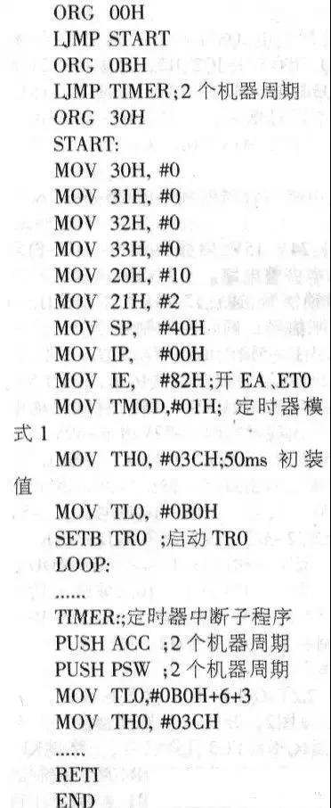 单片机北京赛车pk10时钟时间误差如何调整最有效?
