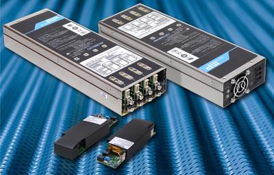 雅特生科技推出适用于第二代MicroMP系列可配置交流/直流电源的全新4插槽电源外壳和保持模块