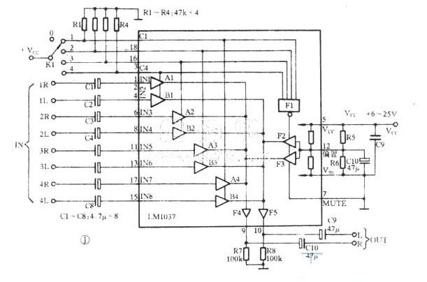6种音频电子开关电路分析