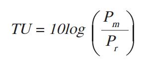 使用分贝计算的潜在问题