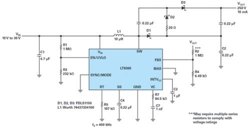 适用于���钔ㄐ庞τ玫母哐股�压和反相转换器解决〗方案