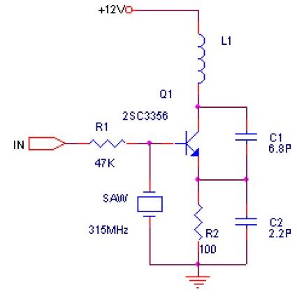 无线电遥控发射头的接收电路设计