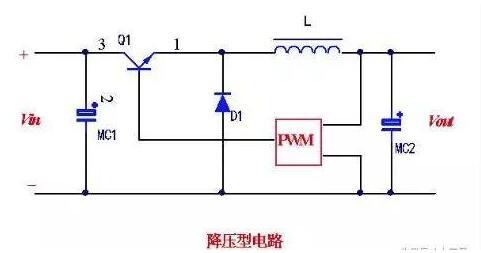 非隔离型开关电源的工作方式