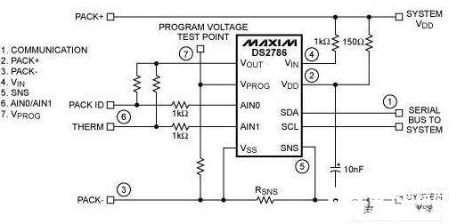 基于DS2786开路电压电路板的测试目的及过程