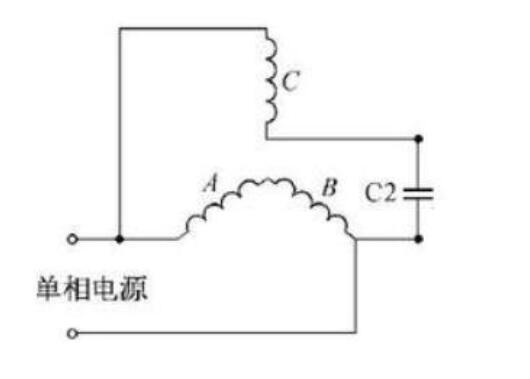 380V三相电机改成220V单相电机方法
