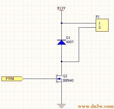 直流电机调速驱动电路图设计经验