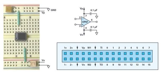 �\算放大器基�A知�R:有源�路的直流偏置