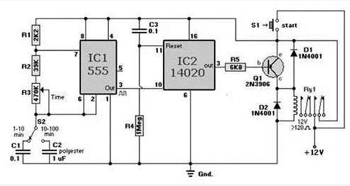 电子设计识图实用:三种555常见经典电路图