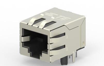 TE推出新型集成变压器的RJ45 插座