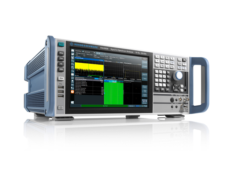 �m用于5G NR、���室和生�a�高速�y�的新型�l�V分析�xR&S®FSV3000和R&S®FSVA3000