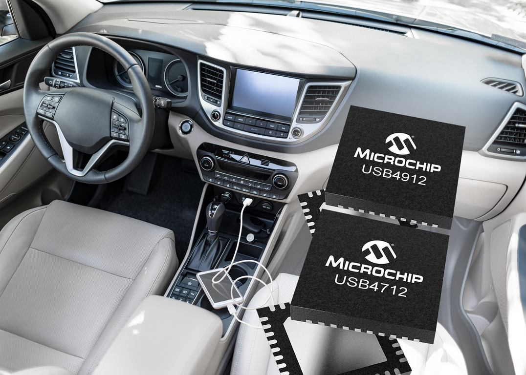 提供可靠方便互联功能 Microchip推出单端口USB Smart Hub IC