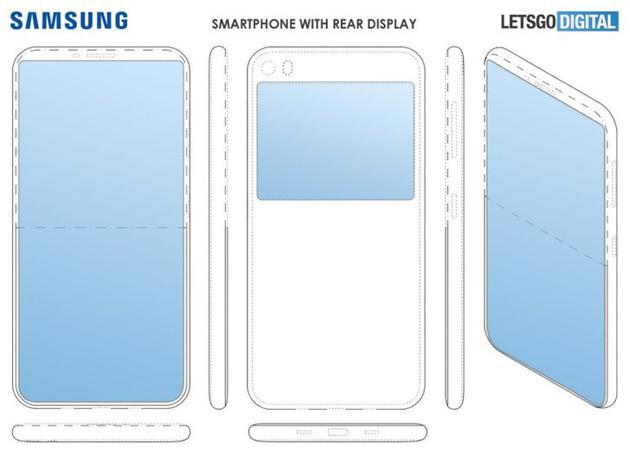 三星新专利曝光 采用前后双屏幕设计