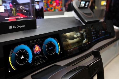 全球车载显示市场LG Display出货量排名第一