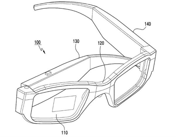 三星AR眼镜专利公开 神似太阳眼镜