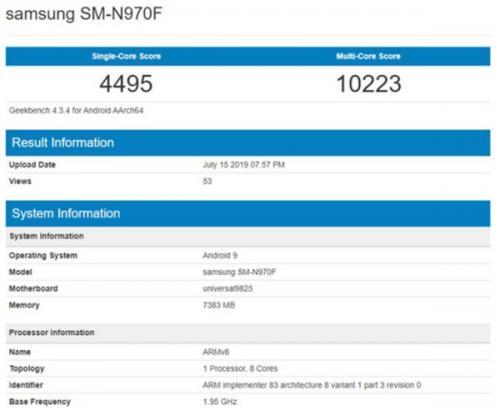 三星宣布�⒂�8月7日推出下一代芯片Exynos 9825
