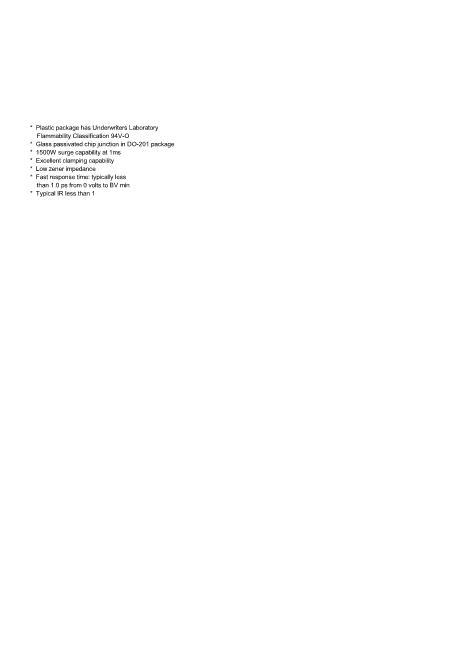 15KE62A数据手册封面