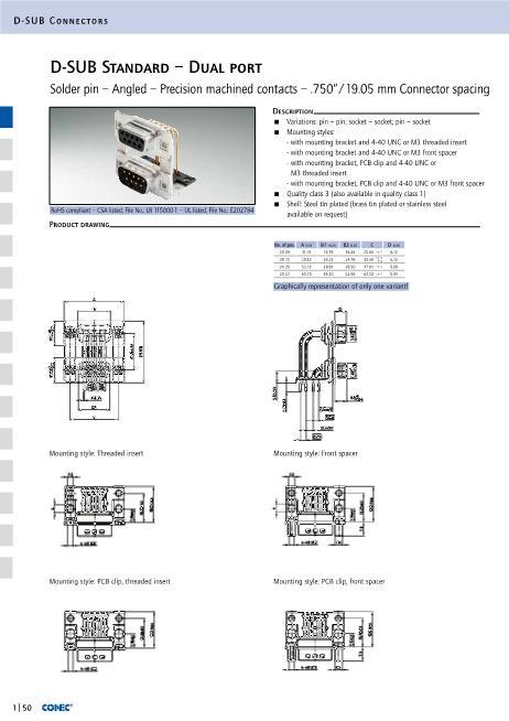 164A20129X数据手册封面