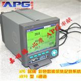 天津6通道彩屏记录仪,APG无纸记录仪USB接口