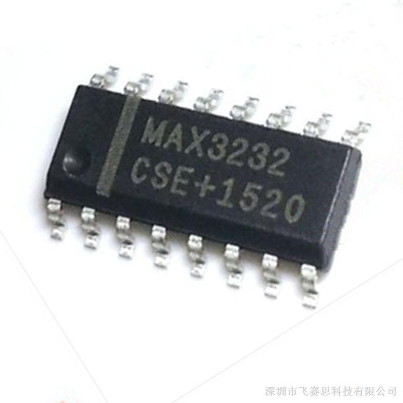 max3232cse sop16线收发器 maxim美信进口原装现货,假一罚十