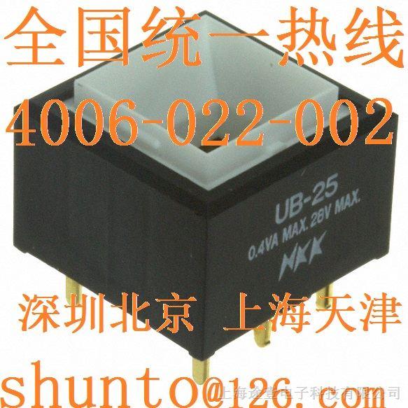 日本nkk开关现货ub25skg03n按钮开关接线图switches